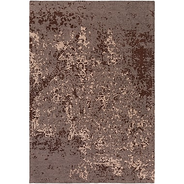 Artistic Weavers Egypt Lara Gray/Brown Area Rug; Rectangle 4' x 6'