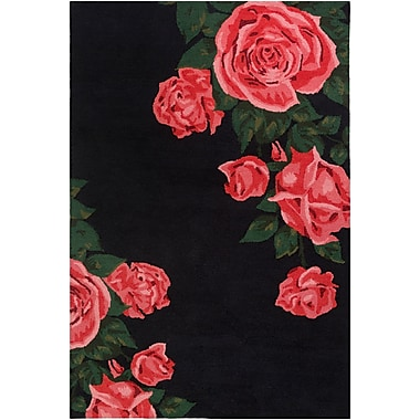 Artistic Weavers Botany Cora Hand-Tufted Red Area Rug; 8' x 10'