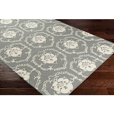 Artistic Weavers Rembrandt Tullia Hand-Tufted Gray/Ivory Area Rug; 7'6'' x 9'6''