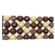 Global Gallery 'Chocolate Wall' by Sarah Saratonina Photographic Print on Wrapped Canvas