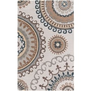 Artistic Weavers Lounge Alanna Hand-Tufted Beige/Gray Area Rug; 5' x 8'