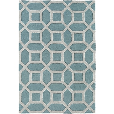 Artistic Weavers Arise Evie Hand-Tufted Blue/Gray Area Rug; Rectangle 2' x 3'