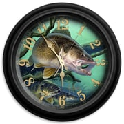 ReflectiveArt Deep Trouble 16'' Classic Wall Clock