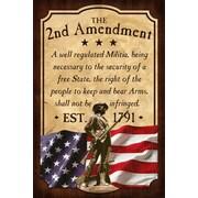 ReflectiveArt 2nd Amendment Vintage Advertisement