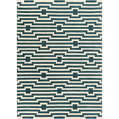 Artistic Weavers Transit Sawyer Hand-Tufted Blue Area Rug; Rectangle 3' x 5'