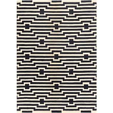 Artistic Weavers Transit Sawyer Hand-Tufted Navy Area Rug; Rectangle 7'6'' x 9'6''