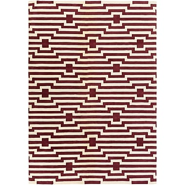 Artistic Weavers Transit Sawyer Hand-Tufted Red Area Rug; Rectangle 7'6'' x 9'6''