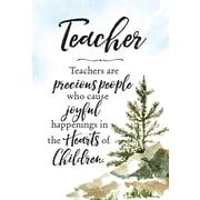 Dexsa Woodland Grace Teachers Are Textual Art on Wood