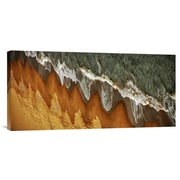 Global Gallery 'The East China Sea Shore' by Jacek Stefan Photographic Print on Wrapped Canvas