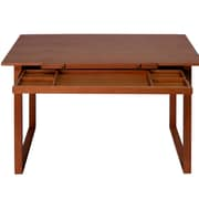 Offex Ponderosa Wood Drafting Table