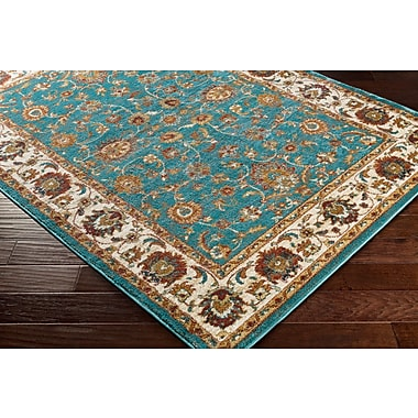 Artistic Weavers Nicea Nerva Teal/Gold Area Rug; 5'3'' x 7'3''