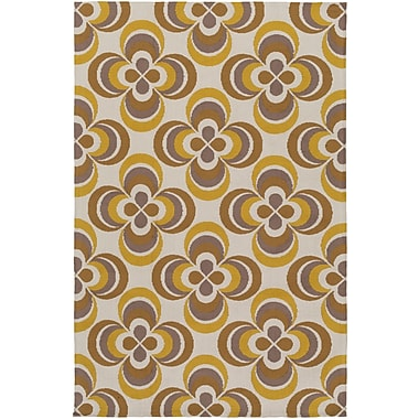 Artistic Weavers Joan Everston Gold/Yellow Area Rug; 8' x 11'
