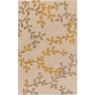 Artistic Weavers Venus Audrey Hand-Tufted Beige/Gold Area Rug; 9' x 13'