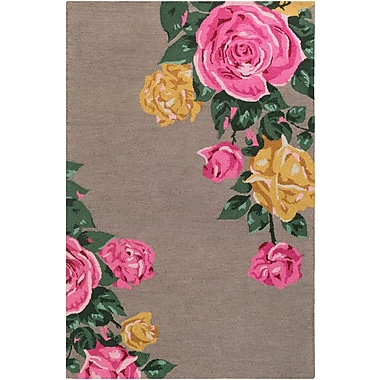 Artistic Weavers Botany Cora Hand-Tufted Taupe Area Rug; 4' x 6'