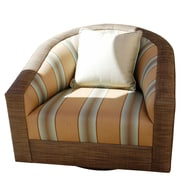 SomersFurniture Calm, Cool, Composed Swivel Chair w/ Cushion