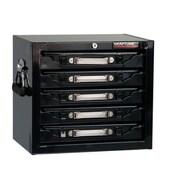 CraftLine Garage 15'' H x 16.875'' W x 12'' D 5 Drawer Parts Cabinet