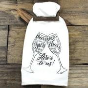 Clairmont&Company Sack Cloth Cheers Towel