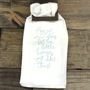 Clairmont&Company Sack Cloth Little Houses Towel