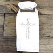 Clairmont&Company Sack Cloth Amazing Grace Cross Towel