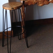 ChicTeak Teak Bar Stool