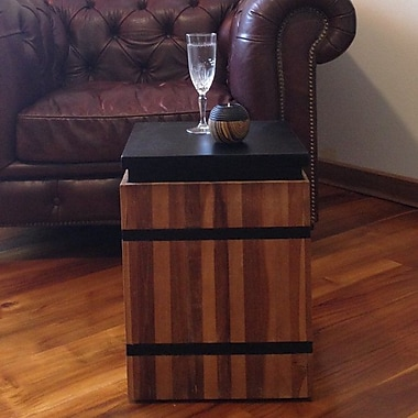 ChicTeak End Table