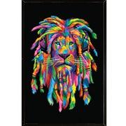 Frame USA 'Lion Rasta' Framed Graphic Art Print, Poster