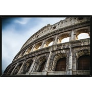 Frame USA 'The Colosseum' Poster Print Solid Wood Framed Photographic Print