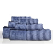 Rockford International 650 GSM 100pct Cotton Sensual Spa Avalon 6 Piece Towel Set; Steel Blue
