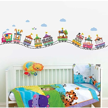 Walplus Circus Number Wall Decal