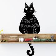Walplus Blackboard - Cat Wall Decal
