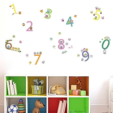 Walplus Number Wall Decal