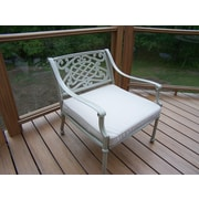 Oakland Living Tacoma Deep Seating Chair w/ Cushion; Beach Sand