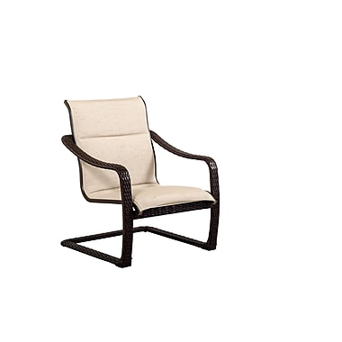 OutdoorMasterpiece Palms All Weather Woven Comfort Sling Club Chair