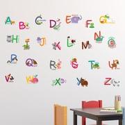 Walplus Fauna Animal Alphabet Wall Decal