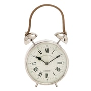 ABCHomeCollection Metal Table Clock