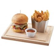 Cal-Mil Oak Burger Board