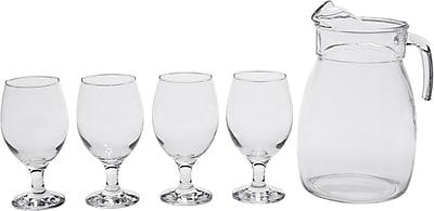 Circle Glass St. Lucia 5 Piece Pitcher Set WYF078279979568