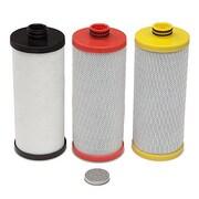 Hahn 3 Cartridge 600 Gallon Under Sink Replacement Filter (Set of 3)
