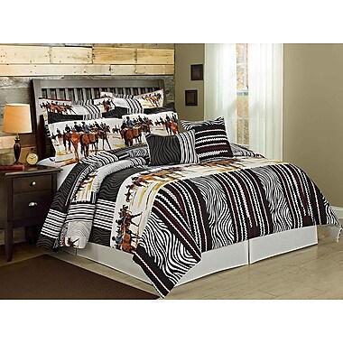 Homechoice International Group Knights 8 Piece Comforter Set; Queen