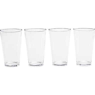Circle Glass Sling 16 oz. Cooler Glass (Set of 4)