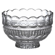 Circle Glass Glorious Deep Crystal Salad Bowl