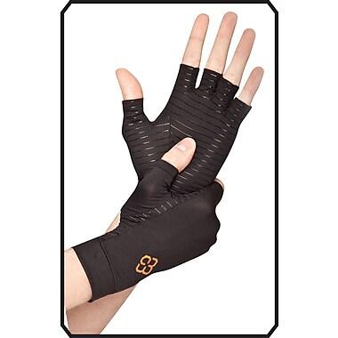 Copper88 - Gants sans doigts, petit, noir (CP811-S)