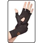 Copper 88 Fingerless Glove, Black