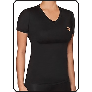 Copper88™ Ladies Short Sleeve Shirt X-Small, Black (CP836-XS)