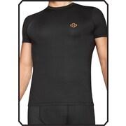 Copper 88 Mens Short Sleeve Shirt, Black