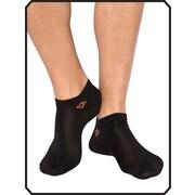 Copper88™ Ladies No Show Sock Liner, 6-9, Black (CP841)
