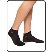 Copper88™ Ladies Ankle Sock Liner, 6-9, Black (CP843)