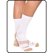 Copper88™ Ladies Mid Socks, 6-9, White (CP822 )