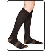 Copper88™ Ladies Knee Socks, 6-9, Black (CP818 )