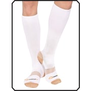 Copper88™ Ladies Knee Socks, 6-9, White (CP826 )